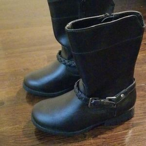 Girls New never worn Size 10 Faded Glory boots
